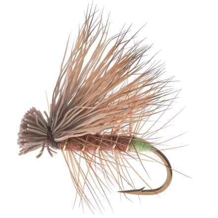 Montana Fly Company Elk Hair Caddis Dry Fly - Dozen in Brown - Closeouts
