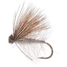 Montana Fly Company Elk Hair Caddis Dry Fly - Dozen in Grey - Closeouts