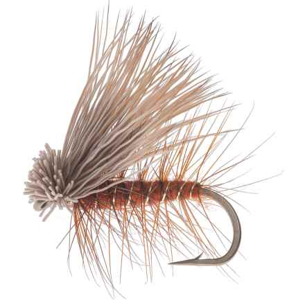 Montana Fly Company Elk Hair Caddis Dry Fly - Dozen in Orange - Closeouts