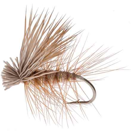 Montana Fly Company Elk Hair Caddis Dry Fly - Dozen in Tan - Closeouts