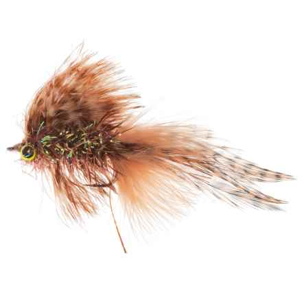 Montana Fly Company Galloup's Sump Streamer Fly - Dozen in Tan