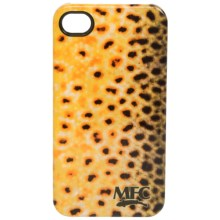 Montana Fly Company Glossy Grip Snap-On Phone Cover - iPhone® 4/4S in Brown - Closeouts