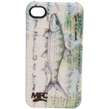 Montana Fly Company Glossy Grip Snap-On Phone Cover - iPhone® 4/4S in Currier Bonefish - Closeouts