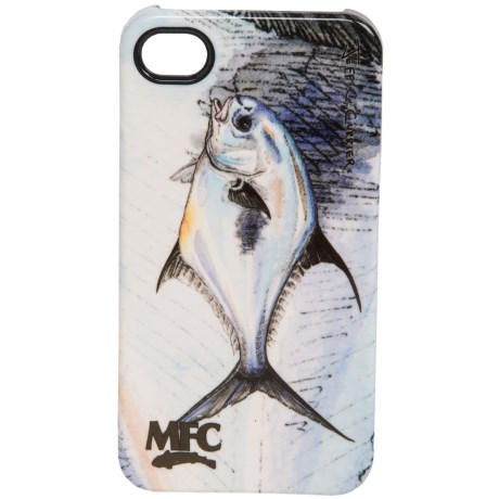 Montana Fly Company Glossy Grip Snap-On Phone Cover - iPhone® 4/4S in Currier Permit