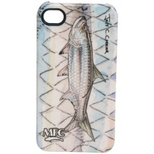 Montana Fly Company Glossy Grip Snap-On Phone Cover - iPhone® 4/4S in Currier Tarpon - Closeouts
