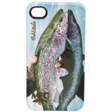 Montana Fly Company Glossy Grip Snap-On Phone Cover - iPhone® 4/4S in Last Look Rainbow - Closeouts