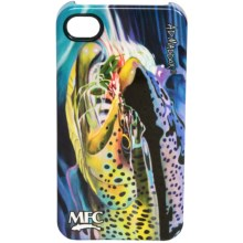 Montana Fly Company Glossy Grip Snap-On Phone Cover - iPhone® 4/4S in Maddox Hopper Snack - Closeouts