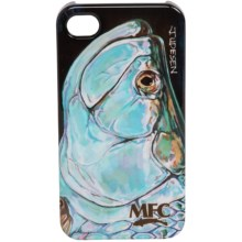 Montana Fly Company Glossy Grip Snap-On Phone Cover - iPhone® 4/4S in Udesens Tarpon Head - Closeouts