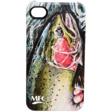Montana Fly Company Glossy Grip Snap-On Phone Cover - iPhone® 4/4S in Udessen Big Steelhead - Closeouts