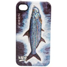 Montana Fly Company Glossy Grip Snap-On Phone Cover - iPhone® 4/4S in Udessen Full Tarpon - Closeouts