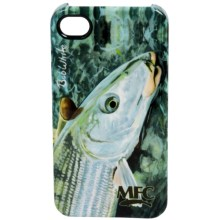 Montana Fly Company Glossy Grip Snap-On Phone Cover - iPhone® 4/4S in White Last Look Bonefish - Closeouts