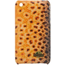 Montana Fly Company iPhone® 3 Snap-On Cover - Glossy Grip in Brown - Closeouts