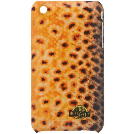 Montana Fly Company iPhone® 3 Snap-On Cover - Glossy Grip in Brown