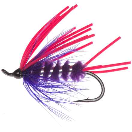 Montana Fly Company Joe Gurt Steelhead Fly - Dozen in Purple/Cerise - Closeouts