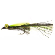 Montana Fly Company Kraft's Kreelex Saltwater Fly - Dozen in Brown/Yellow - Closeouts