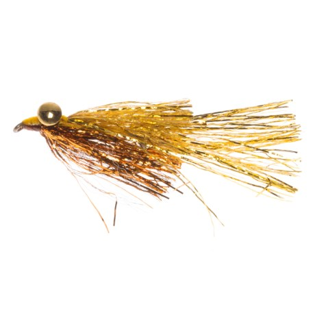 Montana Fly Company Kraft's Kreelex Saltwater Fly - Dozen in Copper/Gold