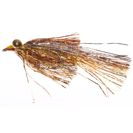 Montana Fly Company Kraft's Kreelex Saltwater Fly - Dozen in Gold/Silver/Copper