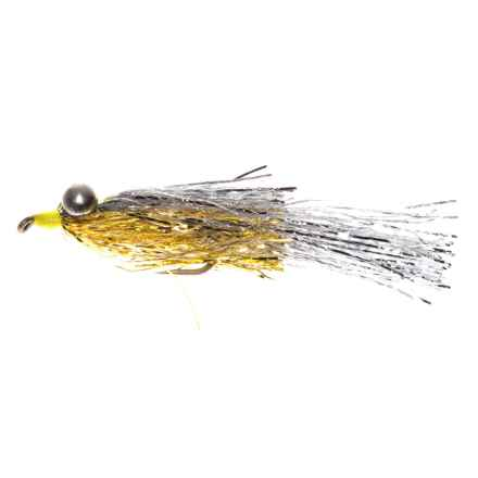 Montana Fly Company Kraft's Kreelex Saltwater Fly - Dozen in Silver/Gold - Closeouts