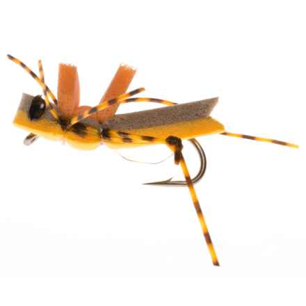 Montana Fly Company More-or-Less Hopper Dry Fly - Dozen in Goldenrod - Closeouts
