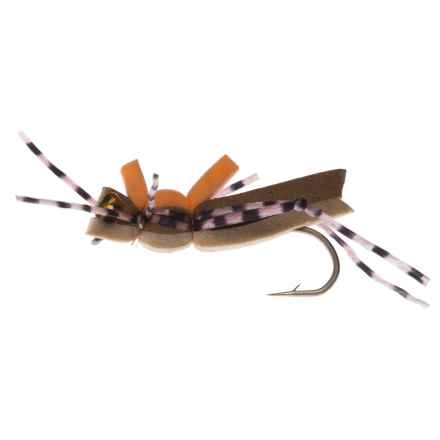 Montana Fly Company More-or-Less Hopper Dry Fly - Dozen in Tan - Closeouts