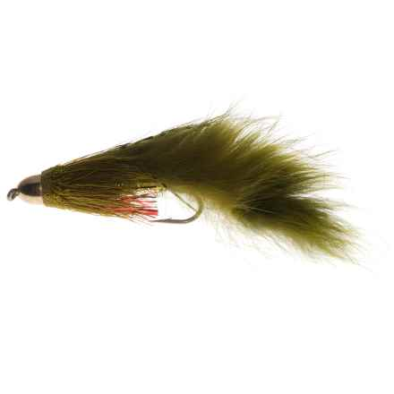 Montana Fly Company Muddy Buddy Streamer Fly - Dozen in Olive - Closeouts