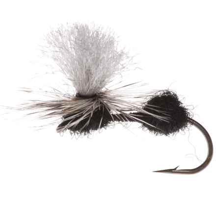 Montana Fly Company Para-Ant Dry Fly - Dozen in Black - Closeouts