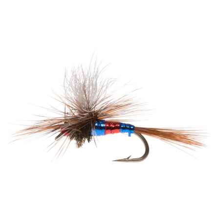 Montana Fly Company Para-Wulff Dry Fly - Dozen in Patriot - Closeouts