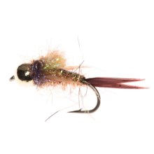 Montana Fly Company Psyco Prince Nymph - Dozen in Yellow - Closeouts
