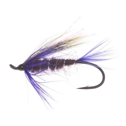 Montana Fly Company Purple Peril Salmon Fly - Dozen in Purple - Closeouts