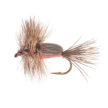 Montana Fly Company Royal Humpy Dry Fly - Dozen in Orange - Closeouts