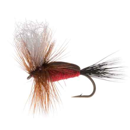 Montana Fly Company Royal Humpy Dry Fly - Dozen in Red - Closeouts