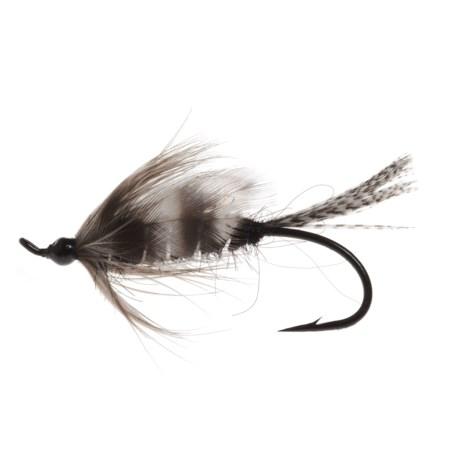 Montana Fly Company Silver Hilton Salmon Fly - Dozen in Silver