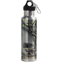 Montana Fly Company Stainless Steel Vacuum-Insulated Water Bottle - 22 fl.oz. in Estradas Gold Digger - Closeouts