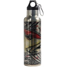 Montana Fly Company Stainless Steel Vacuum-Insulated Water Bottle - 22 fl.oz. in Estradas Redfish - Closeouts