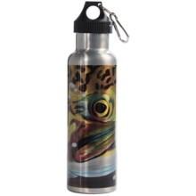 Montana Fly Company Stainless Steel Vacuum-Insulated Water Bottle - 22 fl.oz. in Maddoxs Cool Eye Luke - Closeouts