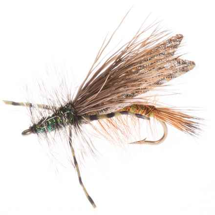 Montana Fly Company Stimi Chew-Toy Dry Fly - Dozen in Olive - Closeouts