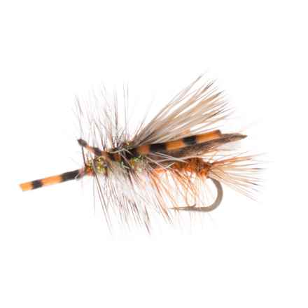 Montana Fly Company Stimi Chew-Toy Dry Fly - Dozen in Orange - Closeouts