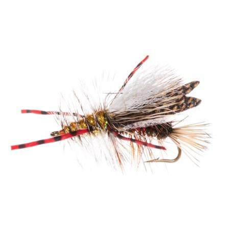 Montana Fly Company Stimi Chew-Toy Dry Fly - Dozen in Royal