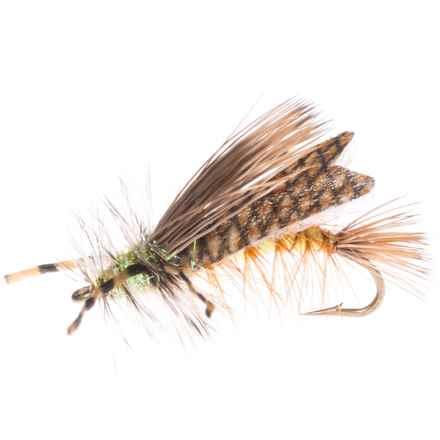 Montana Fly Company Stimi Chew-Toy Dry Fly - Dozen in Yellow - Closeouts