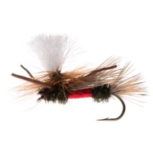 Montana Fly Company Swisher's PMX Dry Fly - Dozen in Royal - Closeouts