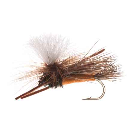 Montana Fly Company Swisher's PMX Dry Fly - Dozen in Orange - Closeouts