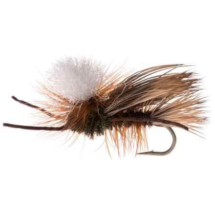Montana Fly Company Swisher's PMX Dry Fly - Dozen in Peacock - Closeouts