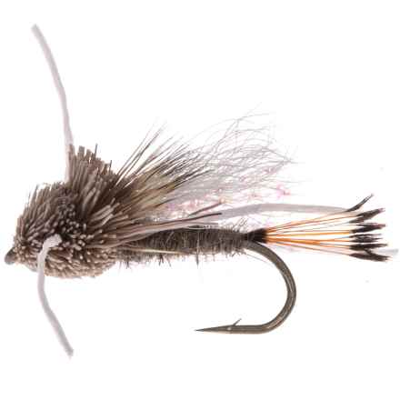 Montana Fly Company Tarantula Dry Flies - Dozen in Hares Ear - Closeouts