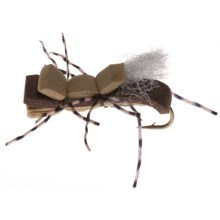Montana Fly Company Taylor's Fat Albert Dry Fly - Dozen in Tan - Closeouts