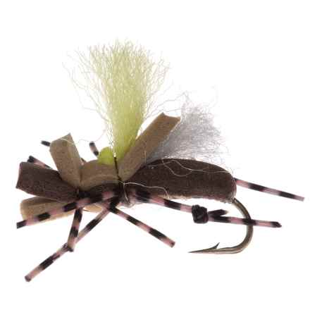 Montana Fly Company Taylor's Fat Albert Dry Fly - Dozen in Tan/Hi Vis - Closeouts