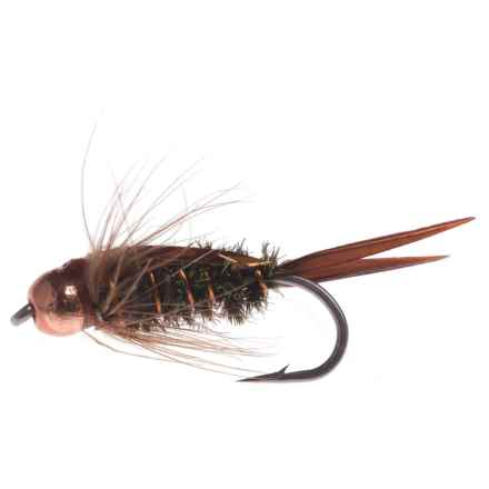 Montana Fly Company The Fly Formerly Known As Prince Nymph Fly - Dozen in Amber - Closeouts