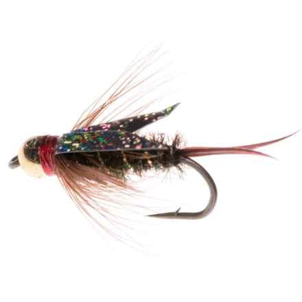 Montana Fly Company The Fly Formerly Known as Prince Nymph Fly - Dozen in Orange - Closeouts