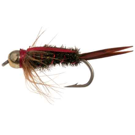 Montana Fly Company The Fly Formerly Known as Prince Nymph Fly - Dozen in Red - Closeouts