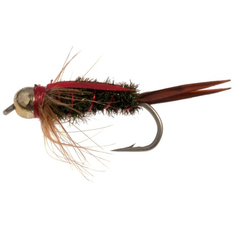 Montana Fly Company The Fly Formerly Known as Prince Nymph Fly - Dozen in Red