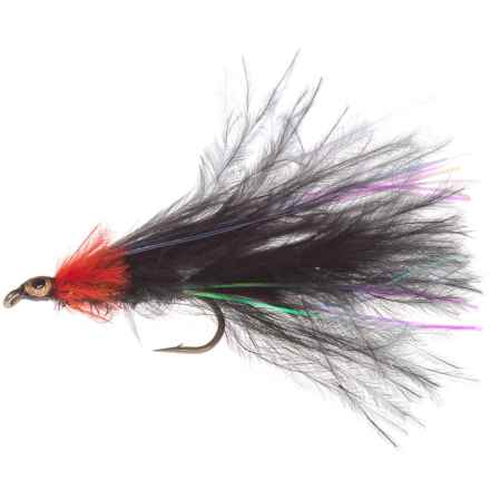 Montana Fly Company Thurman's Pyramid Minnow Streamer Fly - Dozen in Black - Closeouts